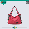 promotion organic cotton canvas top quality ladies shoulder bag fashion cheap women tote bag