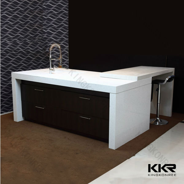 Top quality Artificial stone quartz stone vanity top, solid surface vanity top