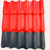 Colorful New Design fiberglass spanish roofing tiles