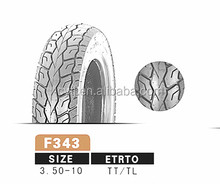 motorcycle tire 3.50-10 street motorcycle parts high quality motorcycle tyre