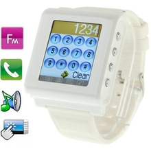 Aoke 812 GSM Smart Watch Phone Button Design, Bluetooth / FM, Single SIM, Network: 2G