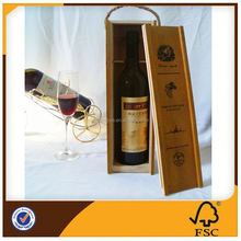 Wine Wood Case For Packing China Dealer
