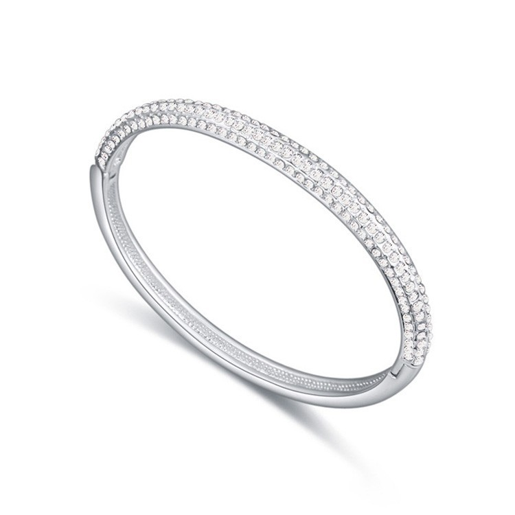New arrival Stone Mini fashion bangle Made With SWAROVSKI ELEMENTS Crystal