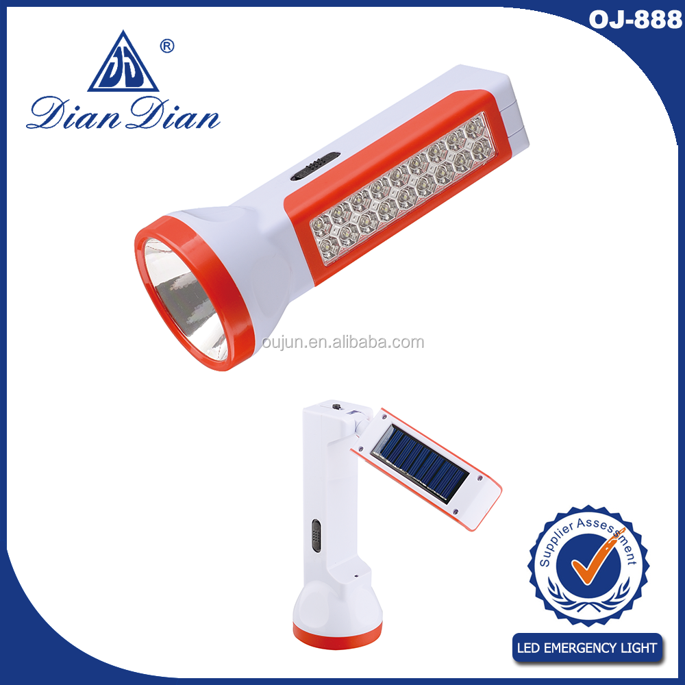2016 made in ningbo factory super quality solar torch light