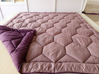Solid color microfiber quilt/ duvet/ comforter quilt any size is available