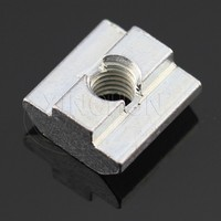 zince plated square nuts