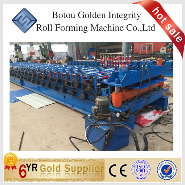 double decking roll forming machine China manuafcture factory