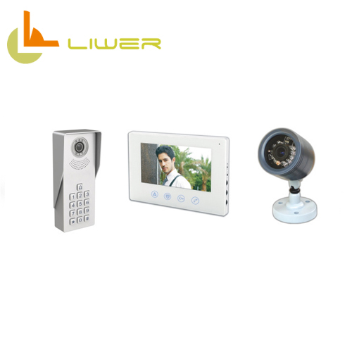 Brand new family-sized portable door bell camera and screen 7inch for home use Video Doorbell Phone