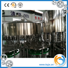automatic bottle water filling/capping machine(with plastic scrap)
