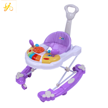 Unique cheap baby walker price / PP plastic baby walker seat replacement / new model swivel wheels baby walker