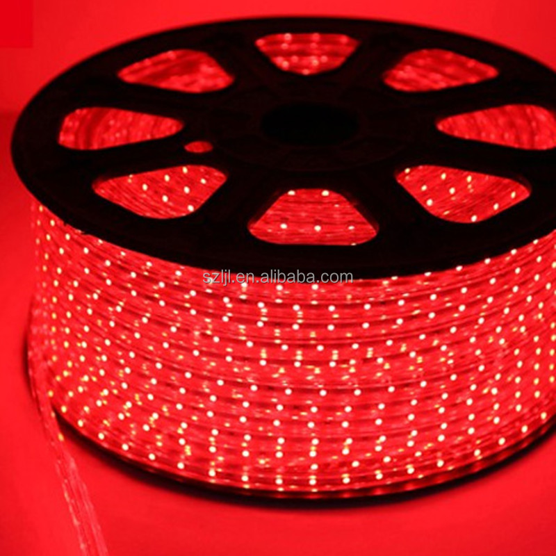 220v red IP68 60/m alloy wire 5050 led flexible strip light