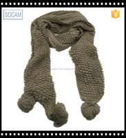 Advertising warm fashionable high quality crochet patterns scarves