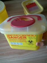 Hospital Biohazard Clinic Syringe Bio Sharps Container