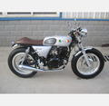 250cc stock retro classic motorcycle