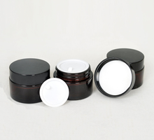 High quality glass jar and bottles cosmetic cream container