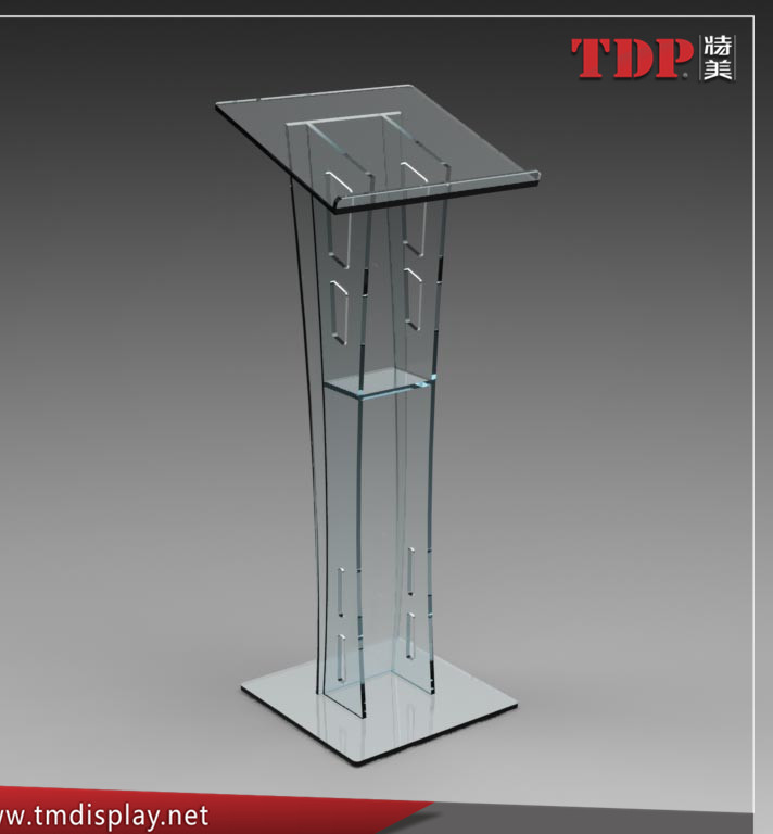 Wholesale Cheap Transparent Acrylic Podium Display Stand