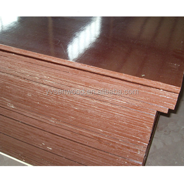 15mm 16mm waterproof phenolic brown film faced plywood board