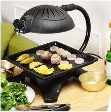 Long life time more than 10 years high efficiency 3D infrared electric barbecue grill smoke free healthy bbq machine
