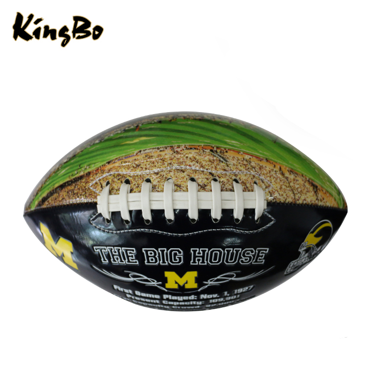 Fashionable cheap promotional rugby ball American football