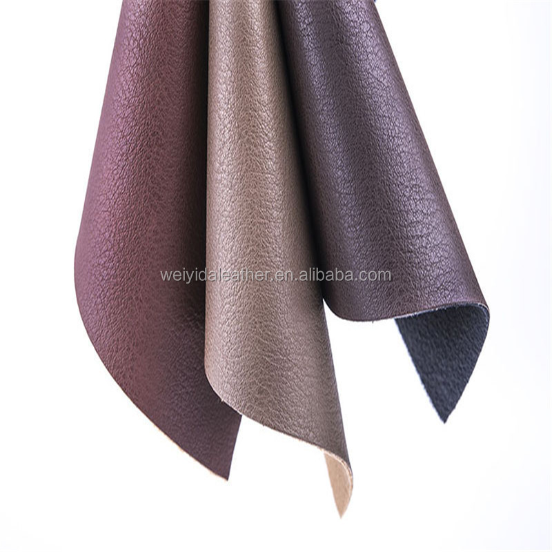 soft hand feeling fashion pu leather for sofa cover/clothing/fashsion fabric
