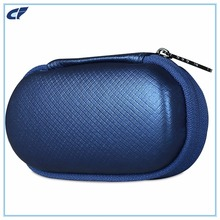 OEM Fashionest Cute Mini Colored Hard Oval Eva Earphone Travel Carry Case For Earbuds/ Little Things Organizer