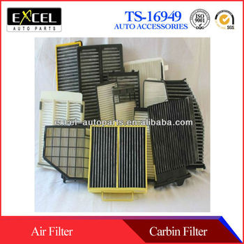 OEM high Quality wholesale for passenger and truck Auto Cabin Filter