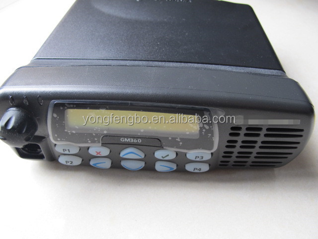 Mobile Radio Walkie Talkie GM360 Car Radio