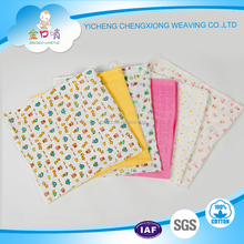 100%Cotton printing gauze muslin cloth baby diapers
