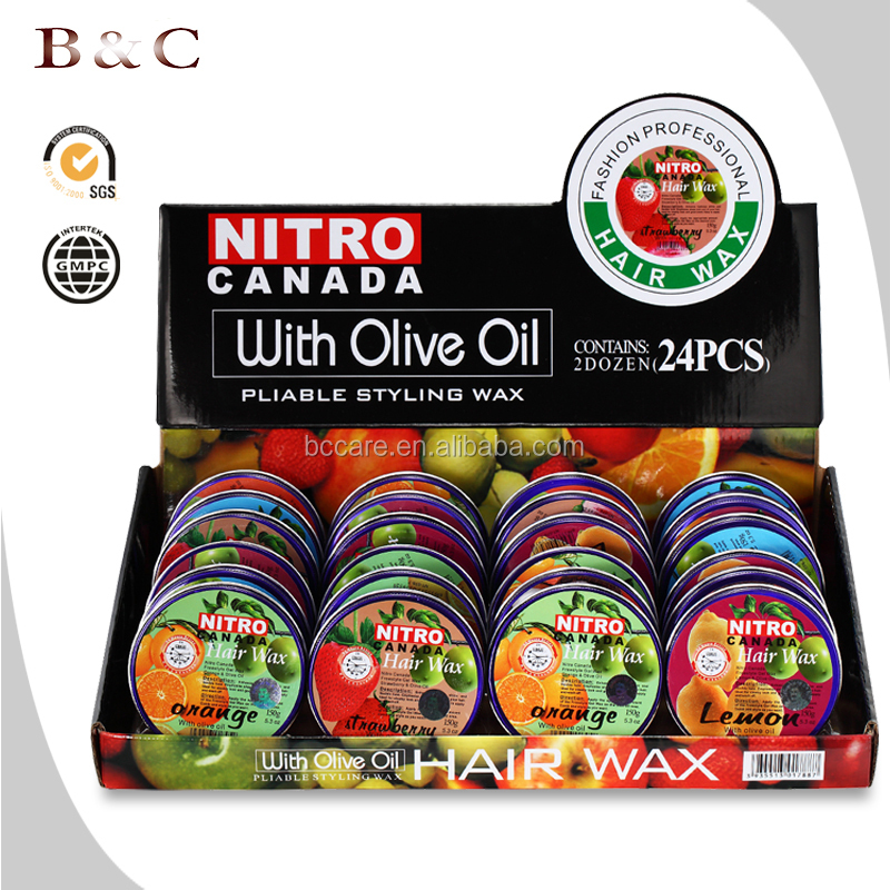 150ml Large boxed NITRO canada fruit hair styling wax