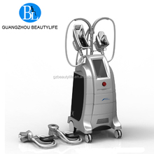 Cool tech fat freezing slimming device with 2 handpieces working same time