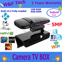 Android Google set top box Dual Mic Android tv box camera Smart TV Box Webcam With 5.0MP skype camera