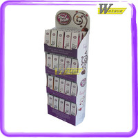 Custom compartments paper cardboard display stand for air freshener