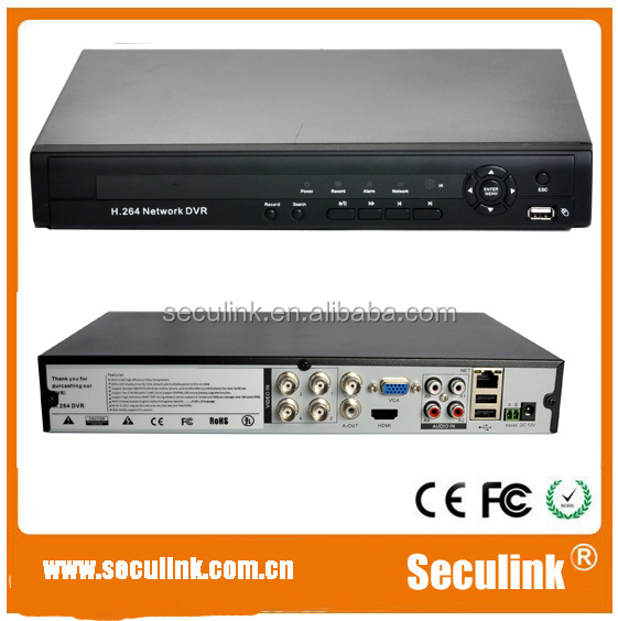 Seculink 4CH H.264 Full <strong>D1</strong> Security CCTV <strong>DVR</strong>, (SA-5004V)