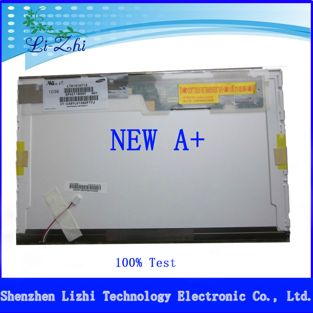 14.1 inch laptop lcd screen LTN141AT07 for ASUS F80C A8S F8S F8SG F8G F8V