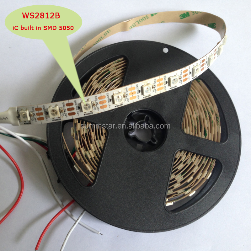 18W/M rgb 5050 led strip light ws2812b