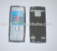 Mobile phone TPU Case With diamond veins for nokia X2