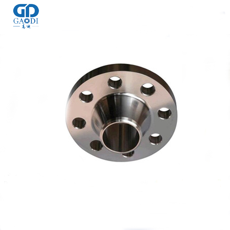 China Din Standard Carbon Steel Forged Thrf Flange