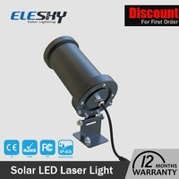 top quality integrated solar lights star shower laser light projector
