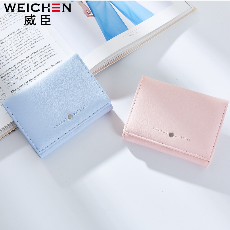 Chinese Factory New Promotion Women PU Leather Wallet