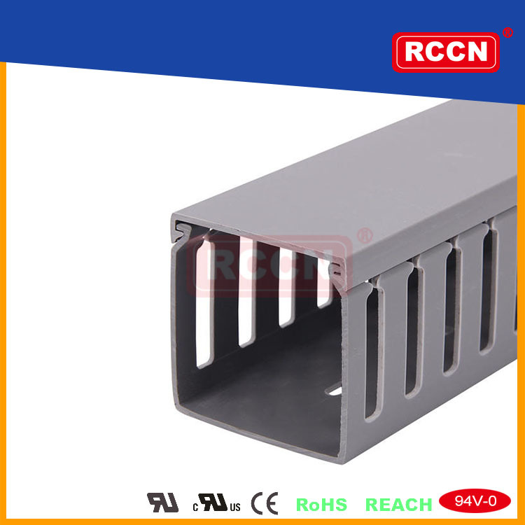 Cable Trunking Product : Rccn cable trunking with cover pvc wiring duct buy