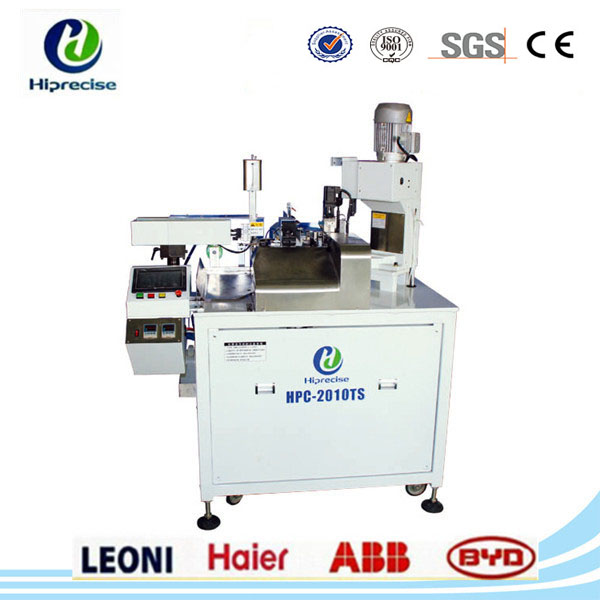 Automatic Enamel Wire Stripping Soldering Twisting Machine