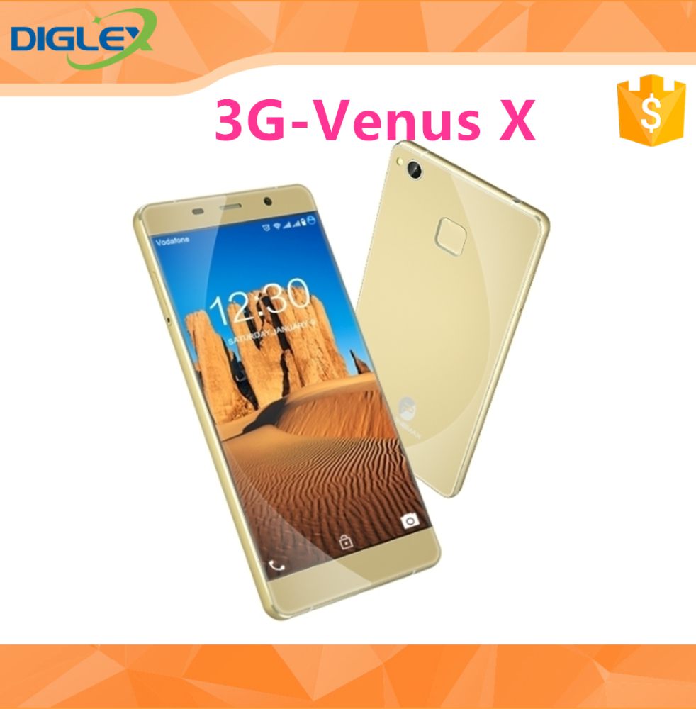 "Supper Slim Phonemax Venus 5.0"" MT6580A Quad-core 1.3 GHz Android 6.0 2GB RAM 16GB ROM with B20 3G Smartphone"