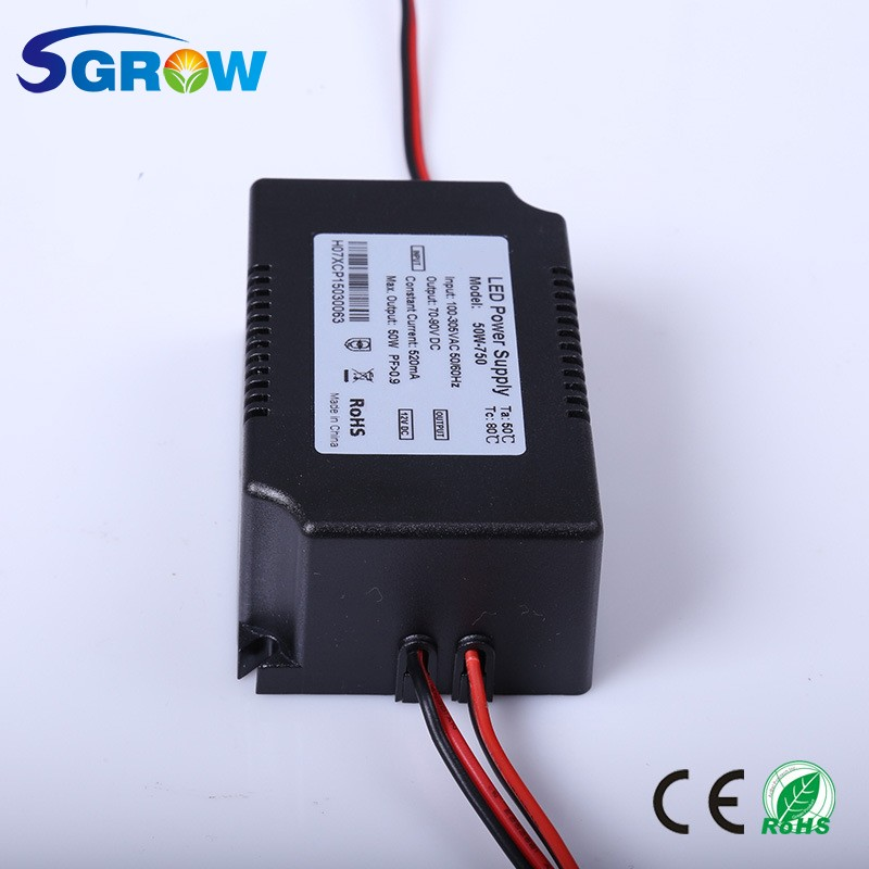 Power Supply for LED Grow Light,LED Grow Light Power Supply,High Power Supply 50W Constant Current LED