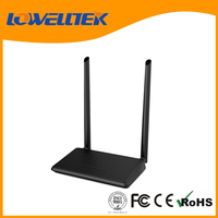1 wan port 3 lan port dual external antenna wireless router with color box package