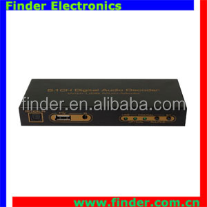 New model 5.1CH Digital to analog Audio Decoder with Two way SPDIF