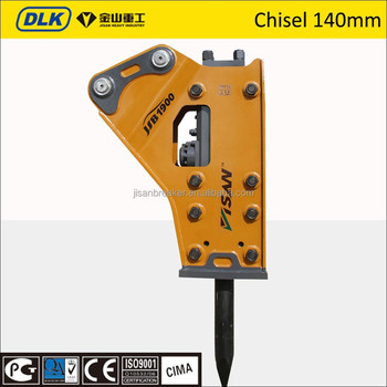 chisel 140mm sb81A hydraulic breaker for 19-26 ton excavator
