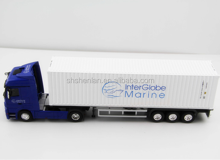 1:50 Internalglobal Marine container truck model toy