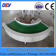 Curved Automatic Transport Conveyor System For Packaging Food