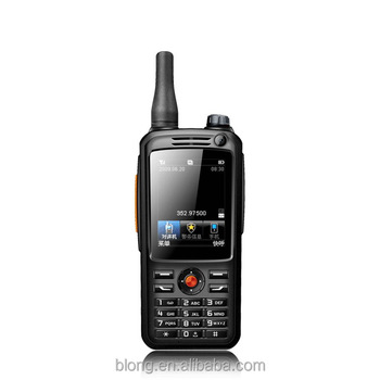 Factory price ptt walkie talkie phone 3G/4G(TDD/FDD) GPS wifi 3500mAh android 4.4.2 zello