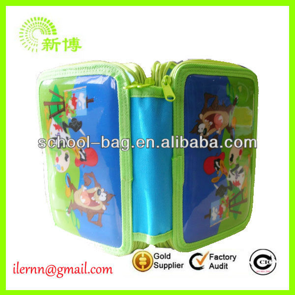 cheap wholesale pencil case stationery set
